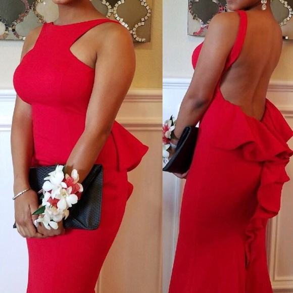 Xscape Red Dresses